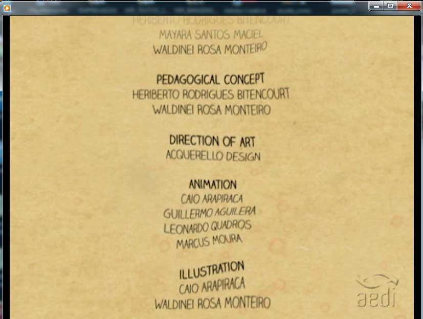 Captura de tela: créditos finais