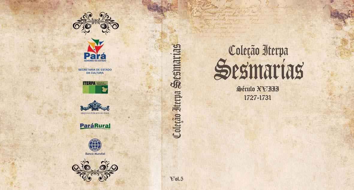 Coleção ITERPA Sesmarias (capa)
