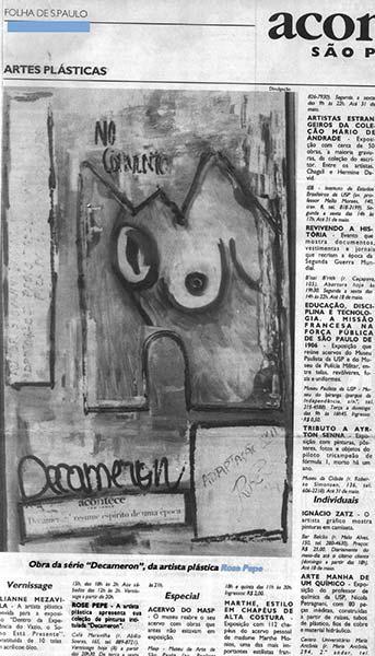 Clipping - Folha de São Paulo / 1995