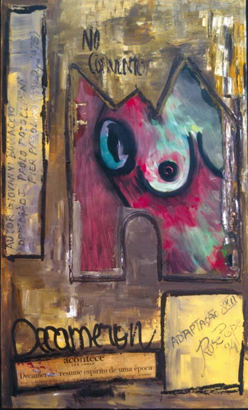 No Convento (óleo sobre tela)